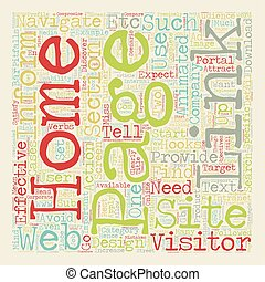 Common Mistakes Home Page Design text background wordcloud ...