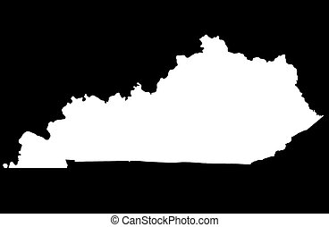 Commonwealth of Kentucky - black background