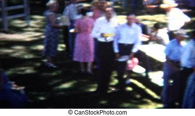 communauté, été, (8mm, 1954, vintage)