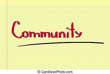 communauté, concept