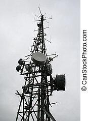 communicatie mast