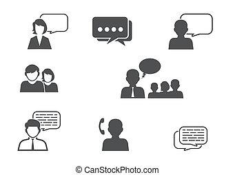 communicatie, mensen