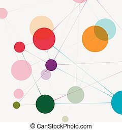 communicatie, technologie, netwerk, achtergrond
