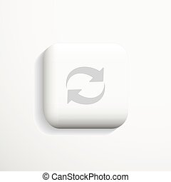 Communication 3d icon. Vector.