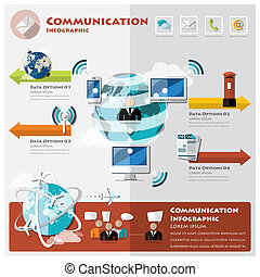 Communication And Connection Infographic