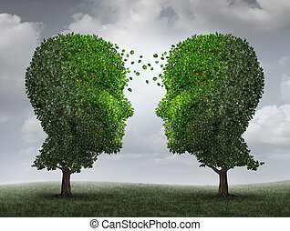 Communication And Growth - Communication and growth concept ...