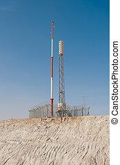 Communication antenna.