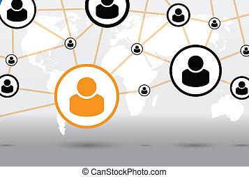 communication background