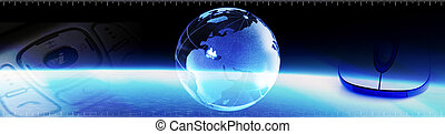 Communication Banner - Header regarding technology and...