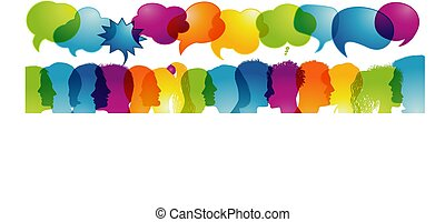 communication., -, bubble., colores, arco irirs, thoughts., ...