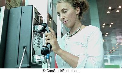 communication by public phone