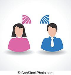 communication concept connection