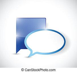 communication concept illustration