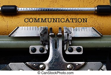 Communication concept