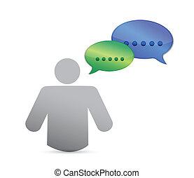 communication, conception, idée, illustration