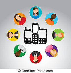 communication, gens