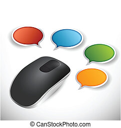 communication guide illustration design