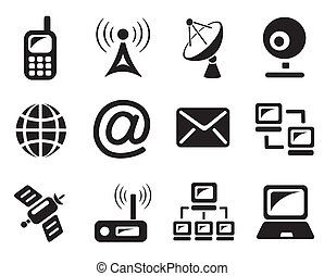 Communication icons - Communication icon set