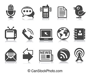 communication icons - Communication icons
