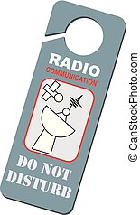 communication, mené, radio