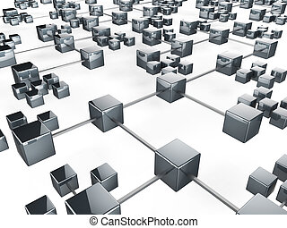 communication, réseau, moyens, communications globales, et, communiquer