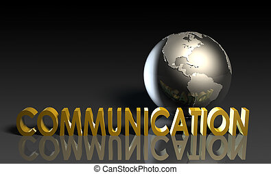 Communication Services on a Global Scale in 3d