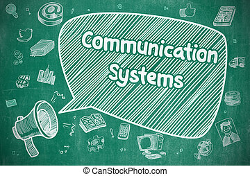 Communication Systems - Business Concept.