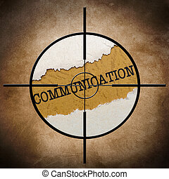 Communication target