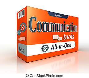 communication tools orange pack concept