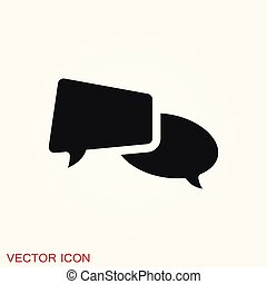 Communication vector icons