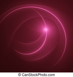 communication wind - abstract communication circle ray...