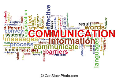 Communication word tags