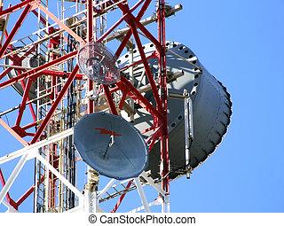Communications Antenna - Media communications repeater...