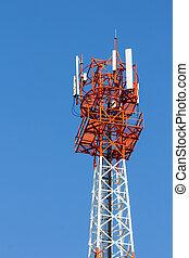 Communications antenna.