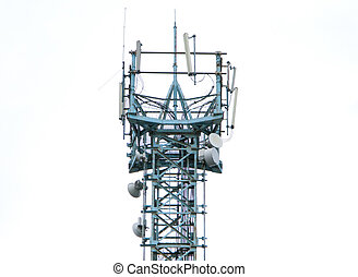 Communications antenna tower