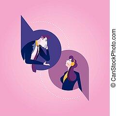 Communications. Business Concept Illustration.