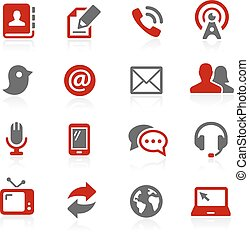 Communications Icons - Redico