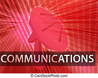 communications, illustration