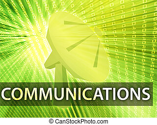 Communications illustration