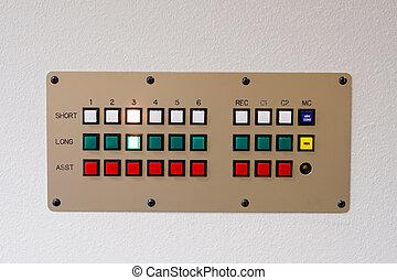 Communications Retro Device - Retro communications intercom...