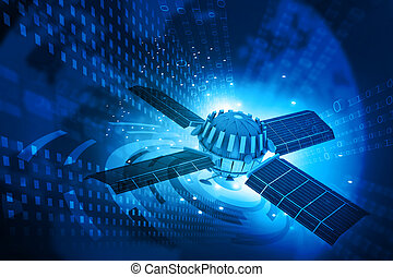 communications, satellite, concept