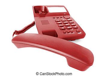 communications., teléfono de la oficina
