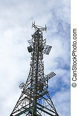 Communications Tower - Older communications and cell tower