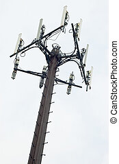 Communications Tower - Outdoor tower for cell and microwave...
