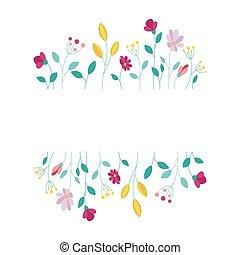communie, achtergrond, vector, frame, witte , ontwerp, floral