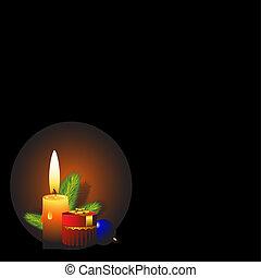 communie, ontwerp, kerstmis, achtergrond