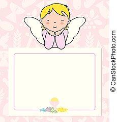 communion card