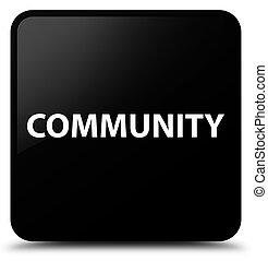 Community black square button