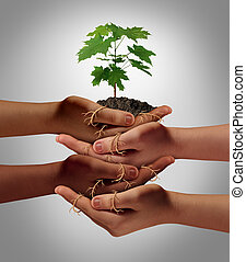 Community Cooperation - Community cooperation concept and...