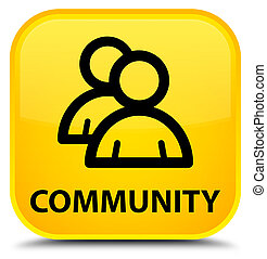 Community (group icon) special yellow square button